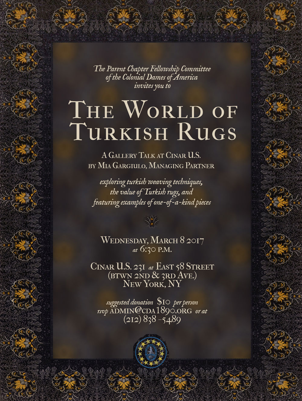 3 8 17 The World Of Turkish Rugs